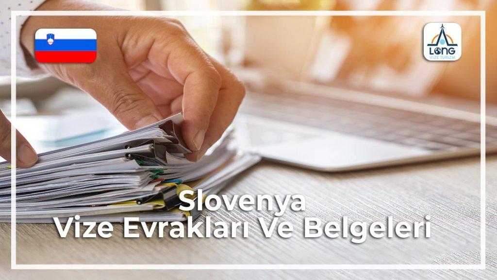 slovenya vize evraklari ve belgeleri 1