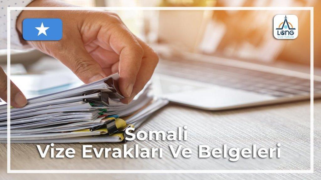 Vize Evrakları Ve Belgeleri Somali
