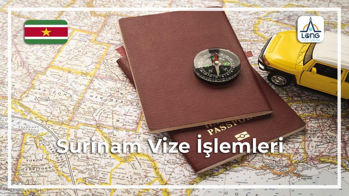 Vize İşlemleri Surinam