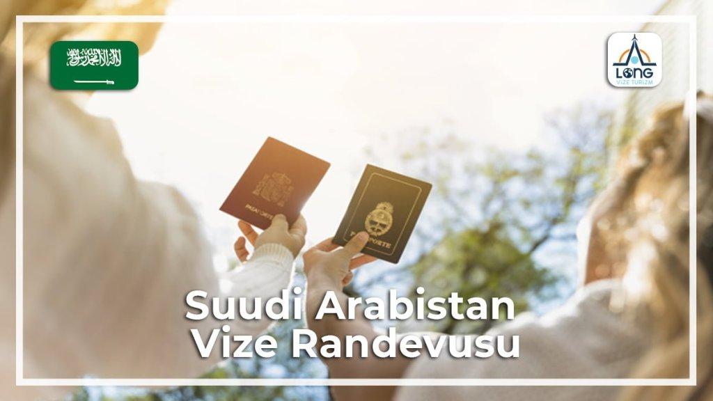 Vize Randevusu Suudi Arabistan