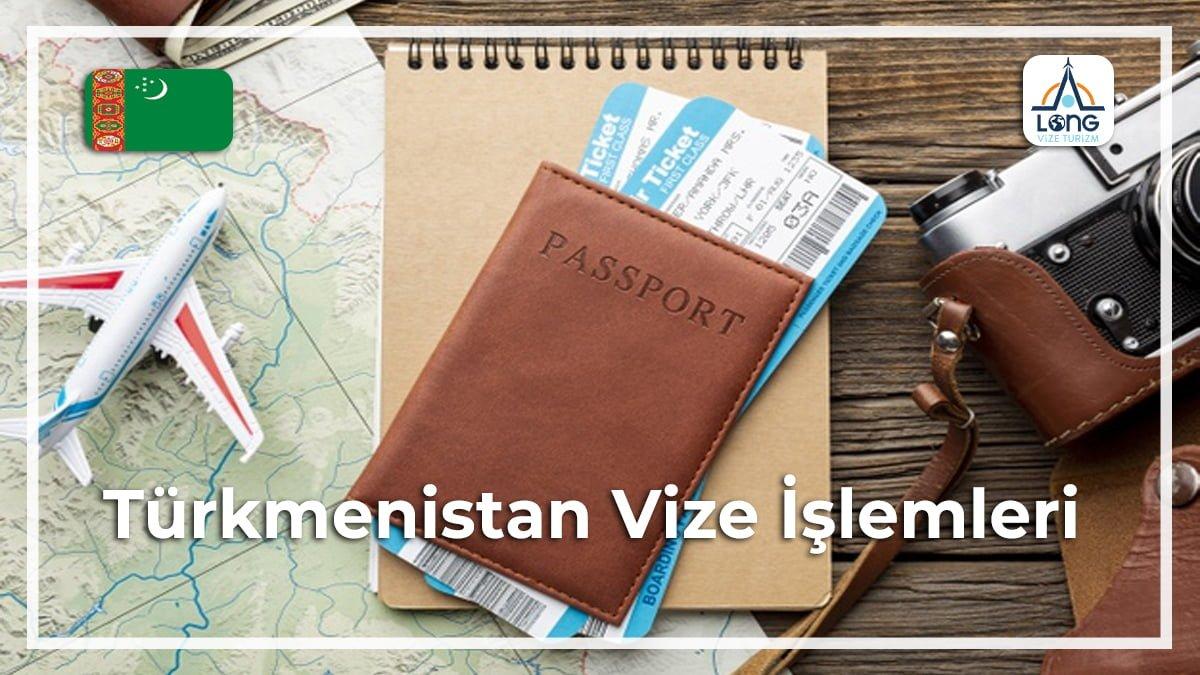 İşlemleri Vize Türkmenistan
