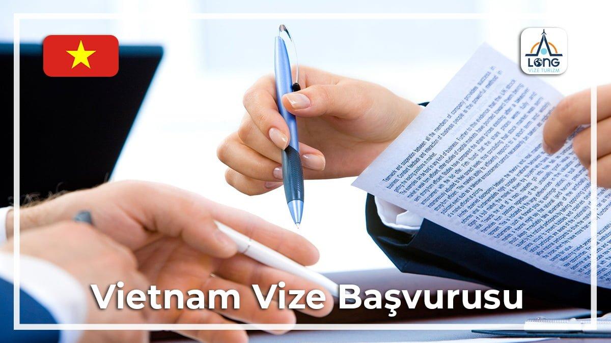 Vize Başvurusu Vietnam