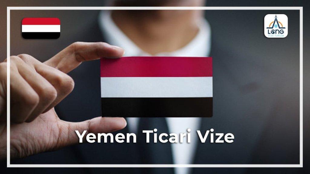 Ticari Vize Yemen