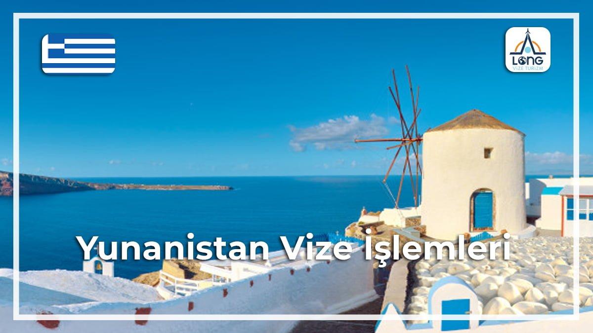 İşlemleri Vize Yunanistan