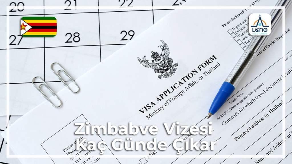 Kaç Günde Çıkar Vizesi Zimbabve