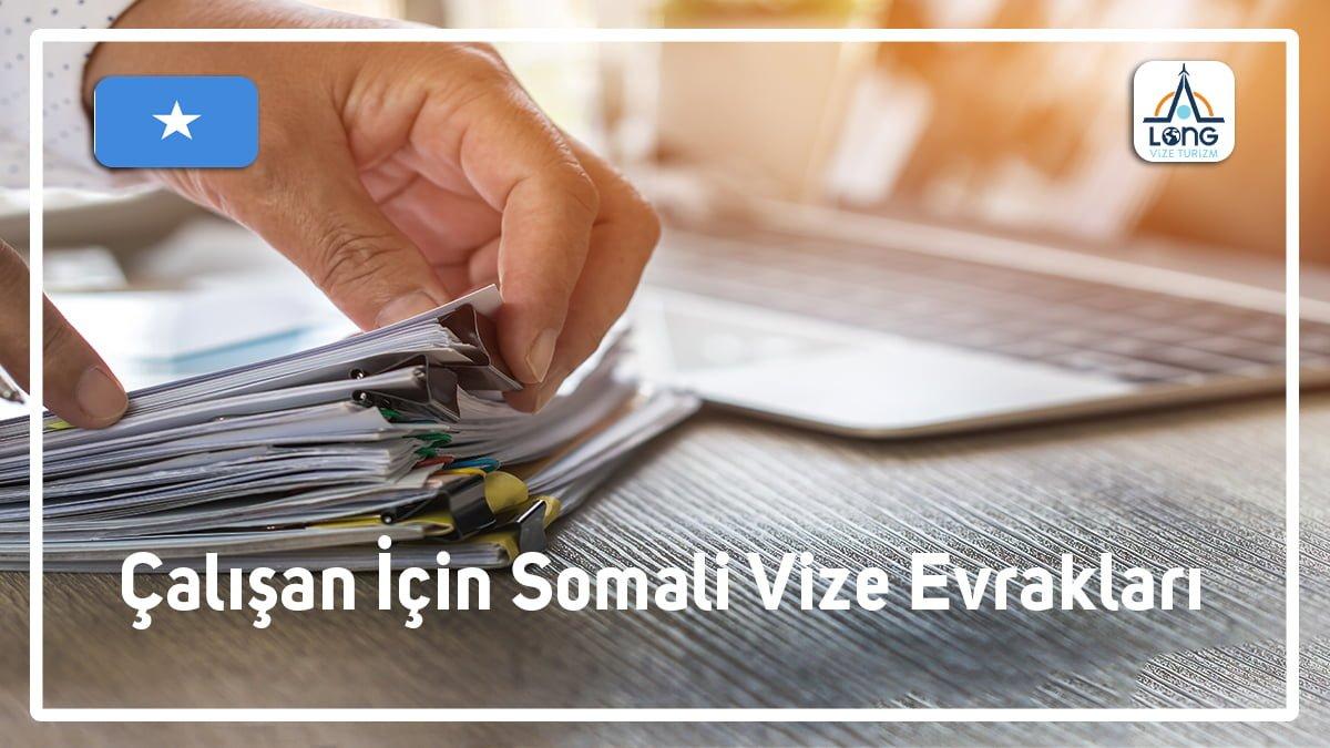 Vize Evrakları Çalışan İçin Somali