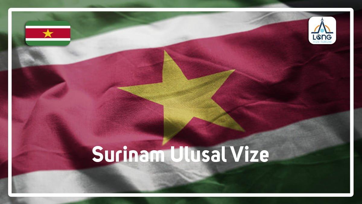Ulusal Vize Surinam