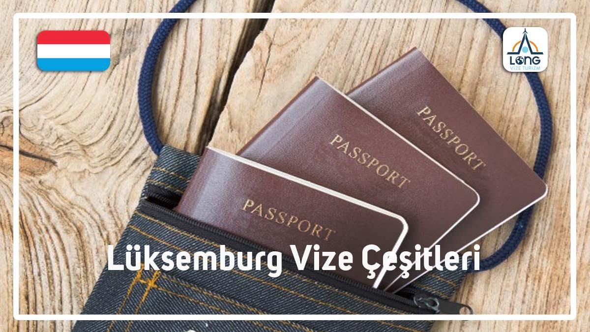 Vize Çeşitleri Lüksemburg