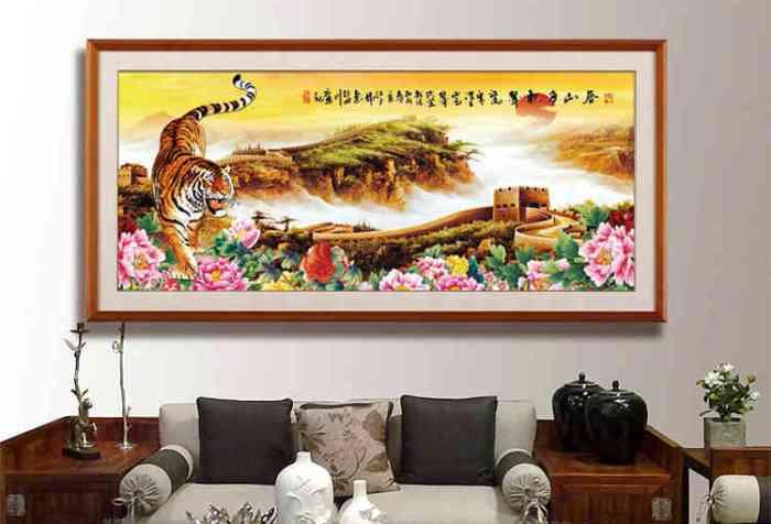 陈巃羽风水阳宅之〝客厅虎画像〞