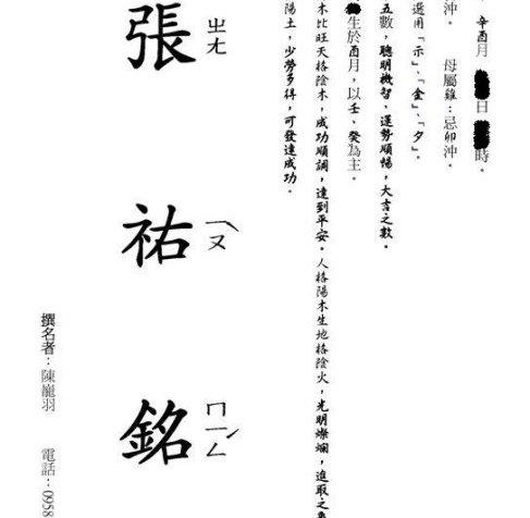 陈巃羽风水阳宅之六派综合命名服务
