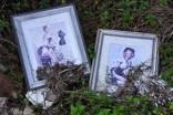 These portraits were found near the shoreline