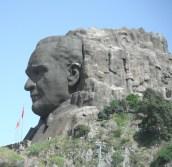 Ataturk Cliff Statue, Izmir, Turkey