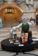 In the Bristol Museum with his pal Wallace