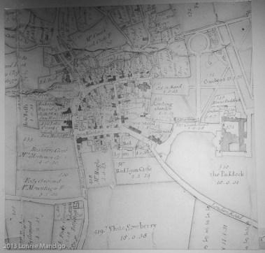 Lacock Village Map