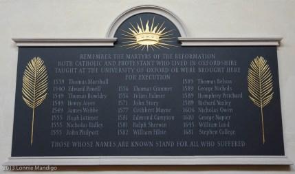 St. Mary's University Church Martyrs