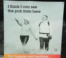 I think I can see the pub