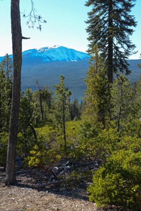 Mt. Bailey over Diamond Lake