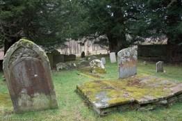 Tombstones at Capel y ffin