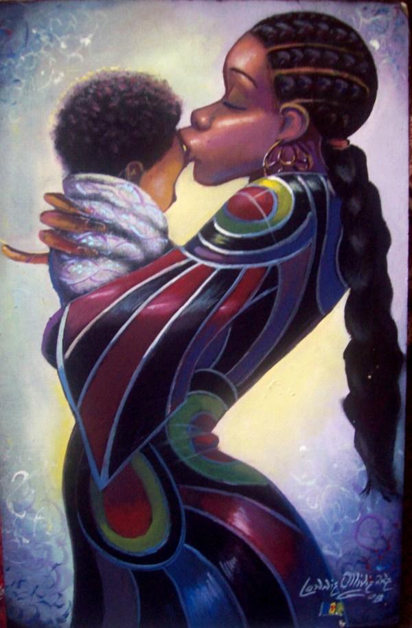 Artist Lonnie Ollivierre