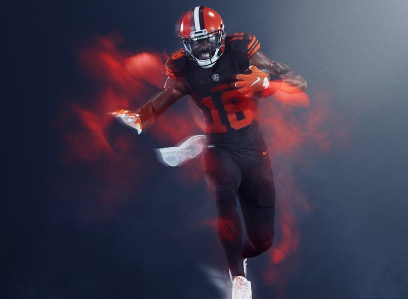 new style 8a2c5 c1acc Cleveland Browns Color Rush Uniforms 2018 | mountainstyle.co