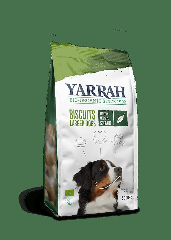 Orgaanilised VEGAN koeraküpsised YARRAH 500g