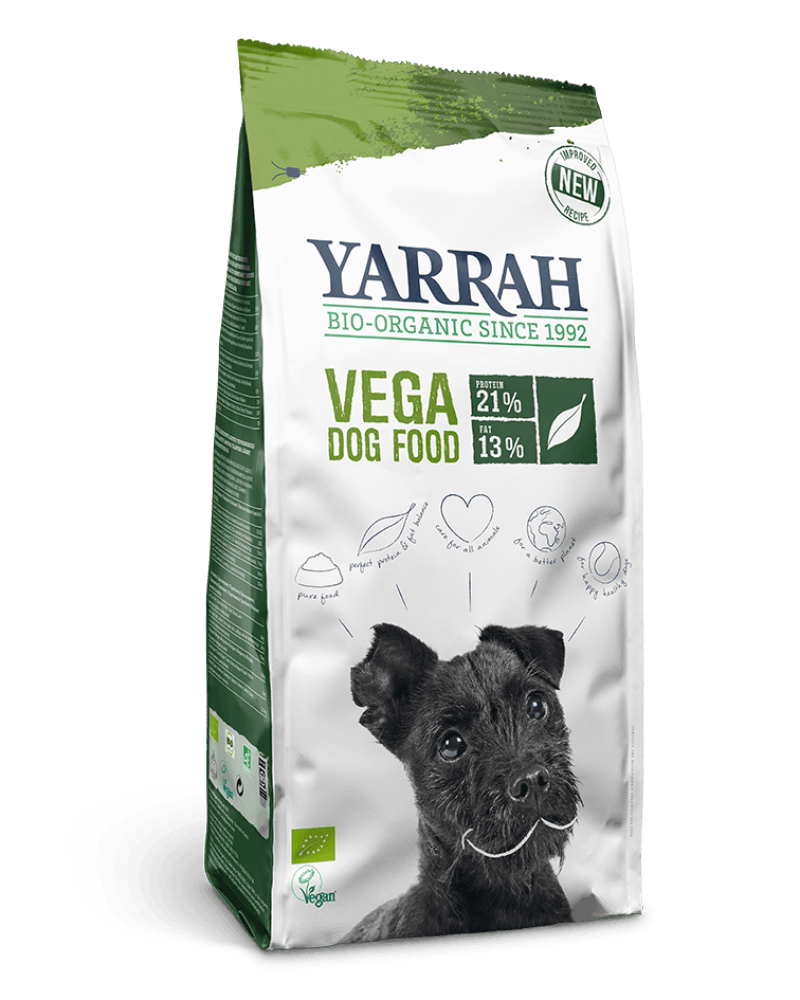 Orgaaniline VEGAN koeratoit YARRAH 10KG