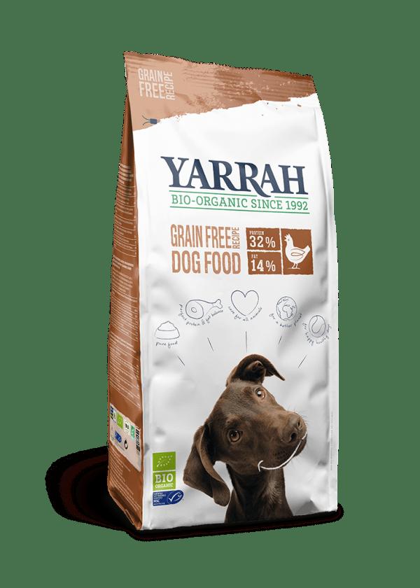 Koeratoit Orgaaniline TERAVILJAVABA koeratoit YARRAH 10kg kana