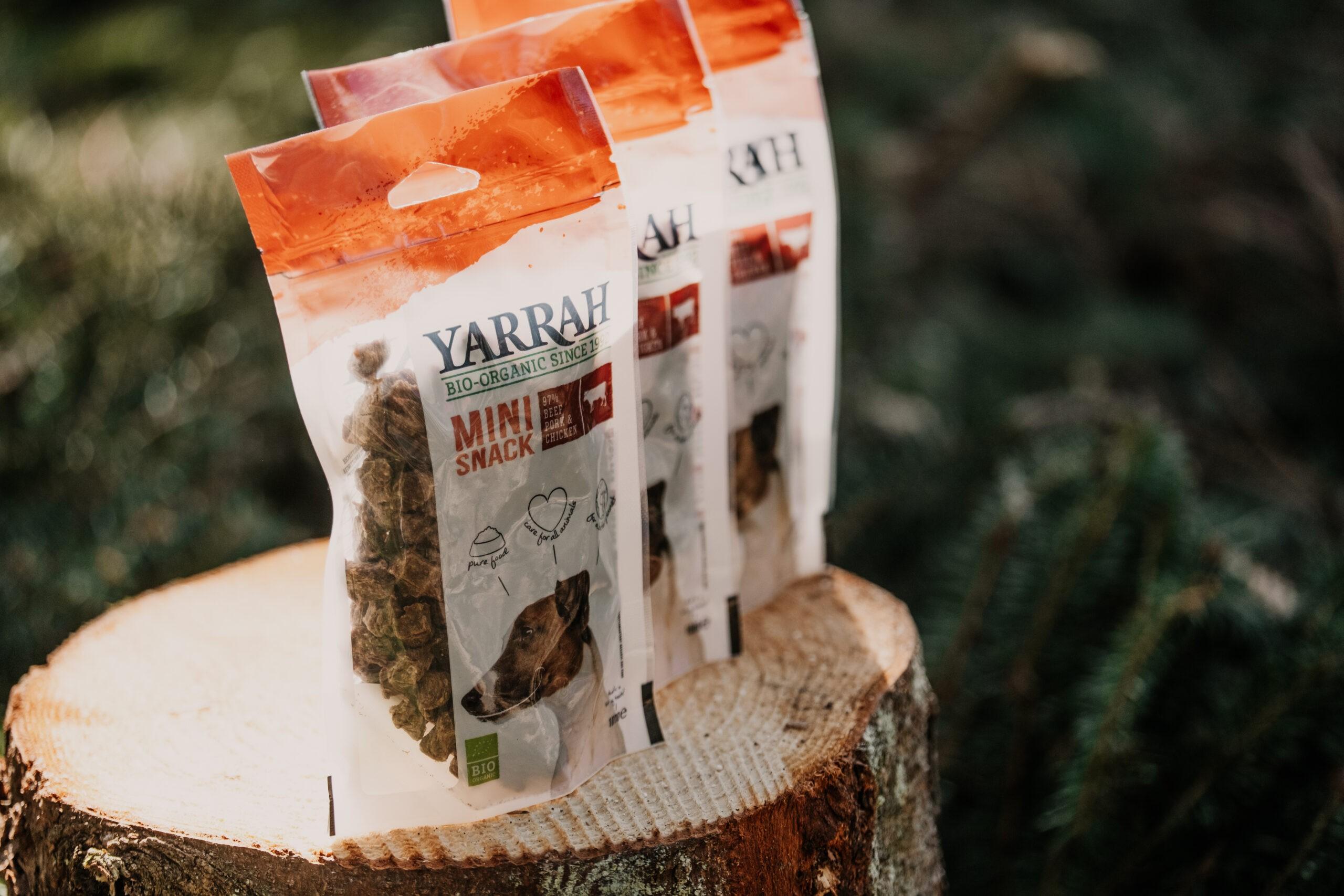 YARRAH orgaaniline koeramaius on saadaval 100g pakendis.