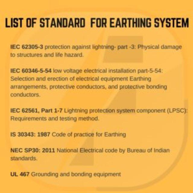 earthing standard