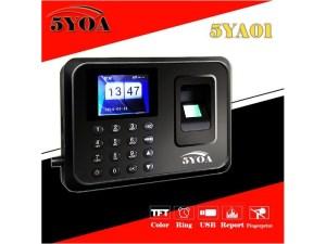 Reloj checador biometrico usb 600 empleados