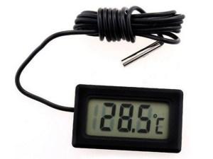 Sensor digital de temperatura Termómetro LCD Termómetro Frigorifijo