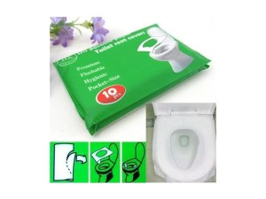 papel Cubre asiento taza del baño wc desechable viajes largos