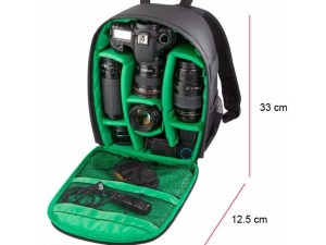 Mochila backpack para equipo de camara DSRL