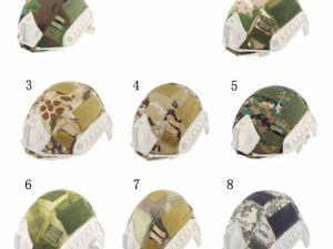 Cubierta para casco militar helmet contactel
