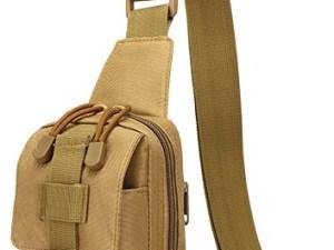 Maletin tactico militar W-A08 hombro pecho mini