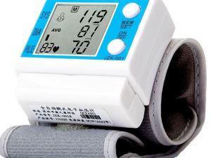 Medidor portatil de presion arterial y pulso para la muñeca