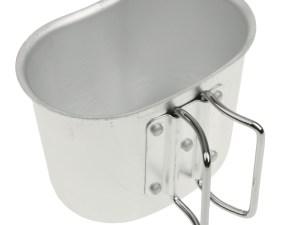 Taza recipiente de aluminio para cantimplora usa