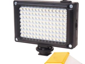 Lampara Led 112 Video Fotos Dsrl Canon Sony Minolta Celular