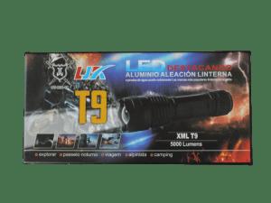 Lampara led tactica T-9 la mas potente para guardia seguridad oficial