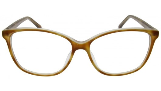 Schmetterlingsbrille in beige