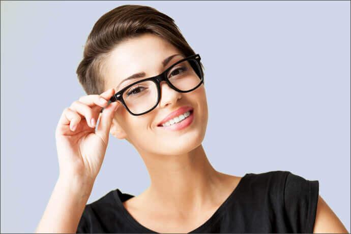 kurzhaarfrisuren mit brille moderne frisuren. Black Bedroom Furniture Sets. Home Design Ideas
