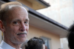 John Waters at the 2009 Folsom Street Fair in San Francisco