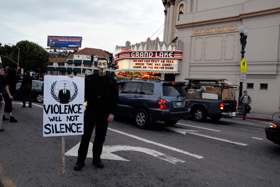 Violence Will Not Silence