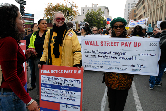 Wall Street Pay Up