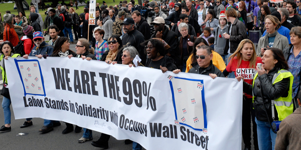 Occupy Oakland March: We Are the 99%