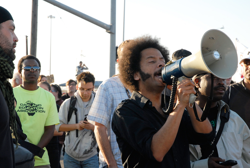 Boots Riley at Occupy Oakland General Strike