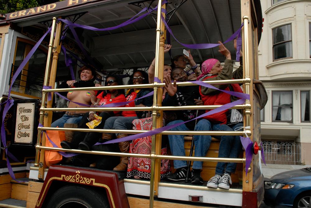 Trans March trolley