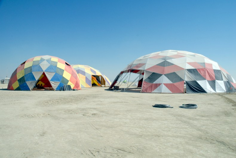 Rainbow Domes. Photo: Wendy Goodfriend
