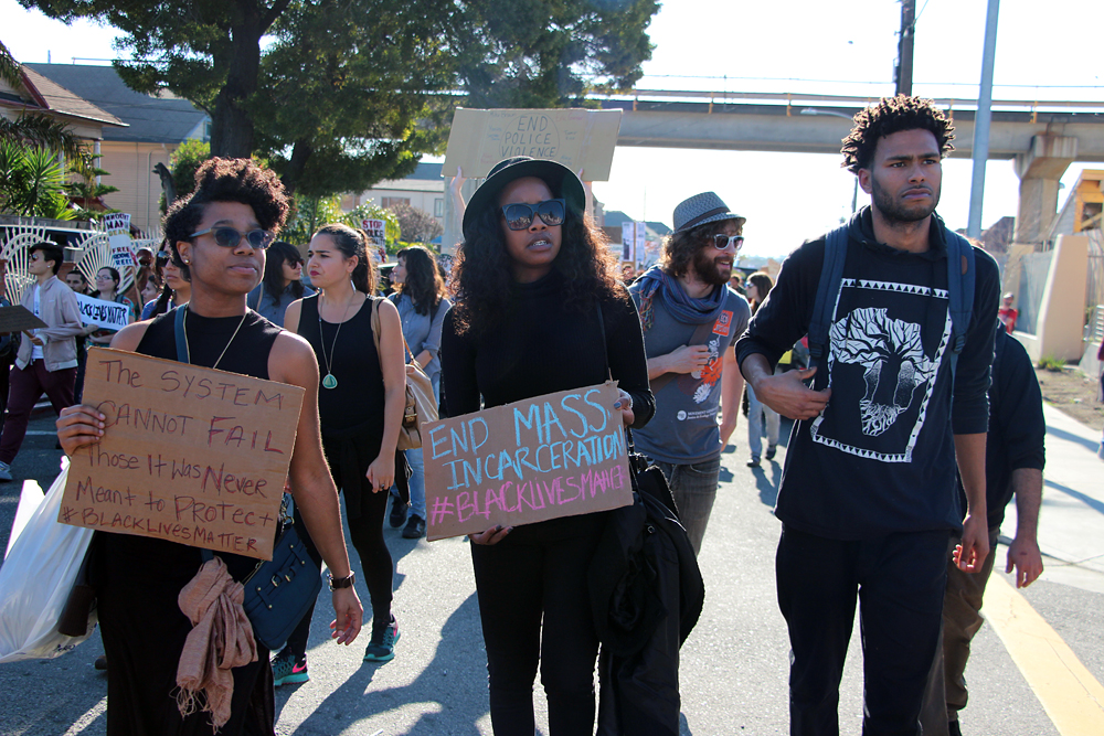 End Mass Incarceration. Photo: Wendy Goodfriend