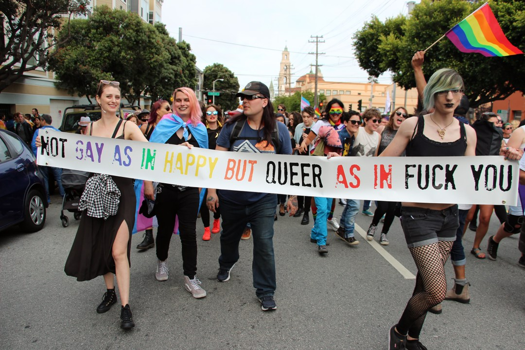 Gay As In Happy But Queer As In Fuck